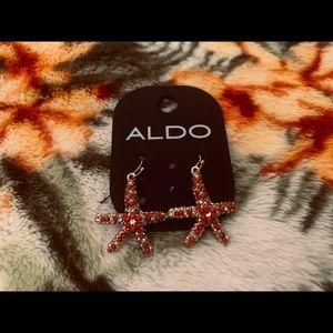 Aldo starfish earrings